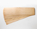 "Slightly smaller! 11 x 41 x 1/16"" Maple skateboard veneer.   Order as many 9-layer sets as you want, no minimum!"