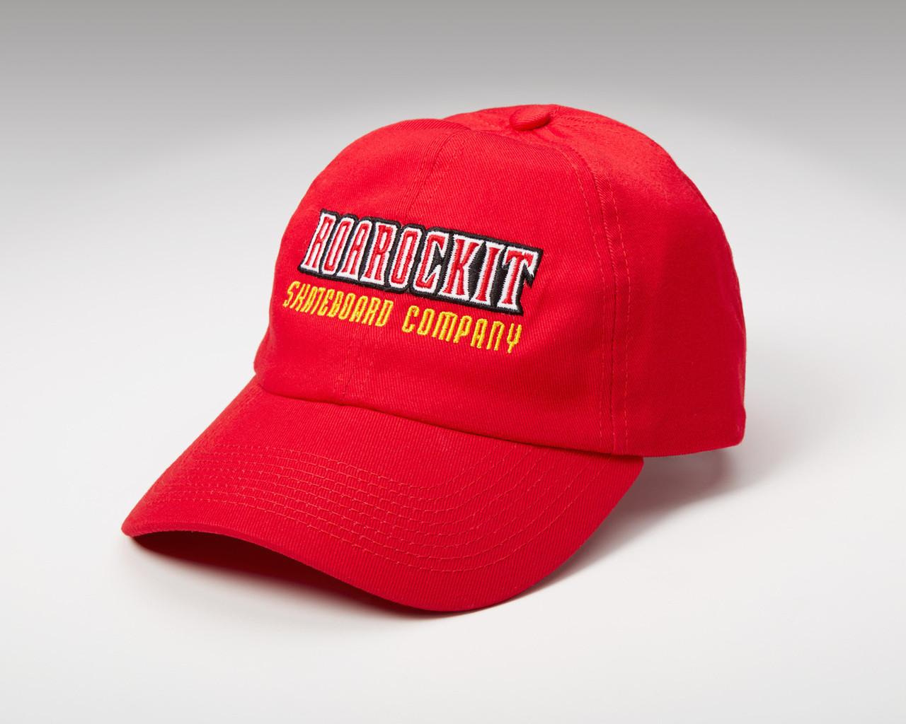 b7d7e615fac Red Ball Cap - Roarockit USA