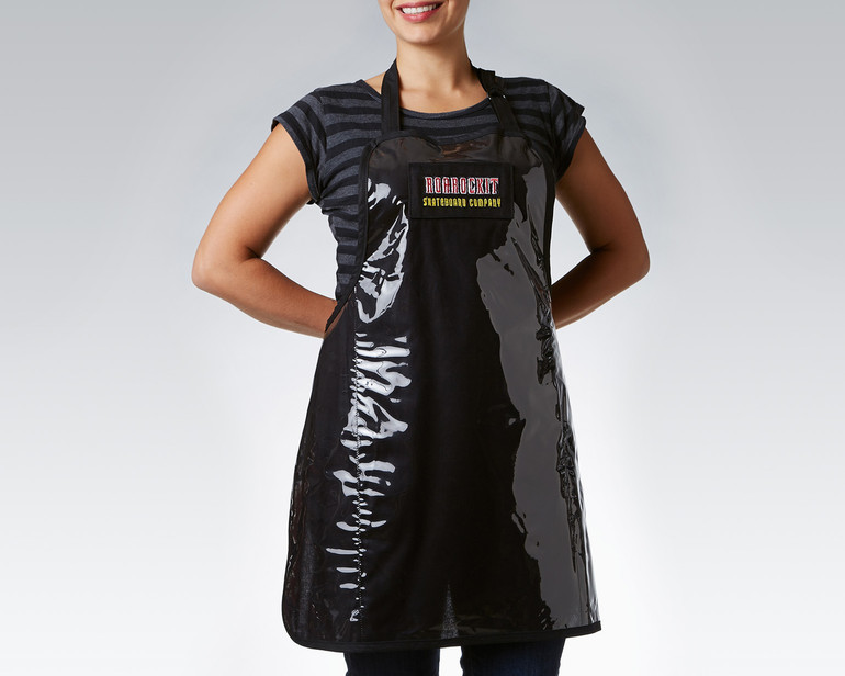 Never mess up your best t-shirt again with glue, by wearing a Roarockit shop apron. Sorry, OUT OF STOCK at the moment!