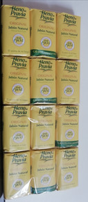 Heno de Pravia Natural Bath Soap 12  bars x 115gr UK stock imported from Spain