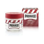New Proraso 'red' pre and post shave cream with Sandalwood for coarse beards