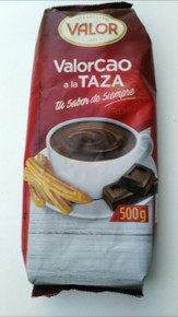 Valor Cao Hot Chocolate Powder ( XL 500 gm Packet)