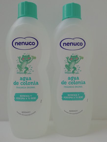x 2 Nenuco Agua De Colonia 600ml Spanish family Cologne.