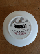 Proraso shaving soap cream 150ml white bowl for sensitive skin