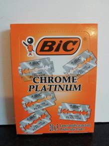 5/10/25/50/100 BIC Chrome Platinum DE razor blades