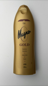 MAGNO GOLD SHOWER/BATH GEL 550ML  FROM SPAIN