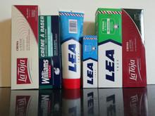 6 LARGE Spanish shaving soap cream tubes La Toja Lea Williams XL selection pack