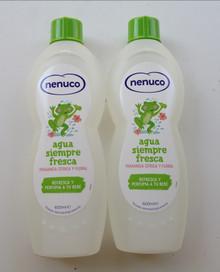 Nenuco Agua Siempre Fresca - Citricos y Florales - 600ml Family Cologne X 2