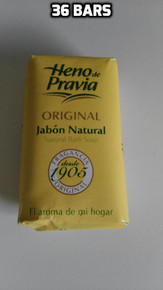 Heno de Pravia Natural Bath Soap 36 bars x 115gr UK stock imported from Spain