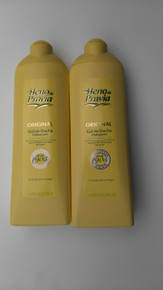 Heno de Pravia 750ml Spanish Shower/Bath Gels x 2 bottles
