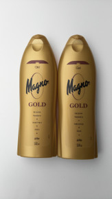 Spanish Shower/Bath Gels x 2 bottles Magno Gold 550ml