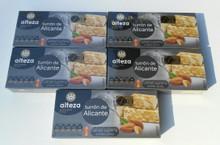 Alteza Turrón de Alicante 5 bars Spanish Almond delicacy 250g