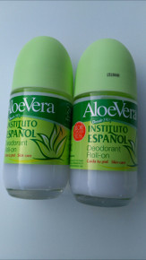 Roll-On INSTITUTO ESPAÑOL unisex ALOE VERA Deodorant roll on 75 ml x 2