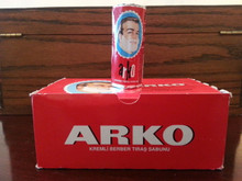 Arko Shaving Soap Sticks. UK stock, imported from Turkey.