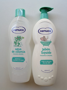 Nenuco Cologne 600ml & Liquid Soap Pump 650ml