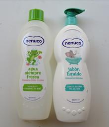 Nenuco Agua Siempre Fresca 600ml & Liquid Soap Pump 650ml