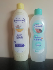 Nenuco Cologne 600ml & Nenuco Liquid Soap 750ml