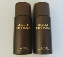Agua Brava by Antonio Puig Deodorant Spray 150ml  x 2