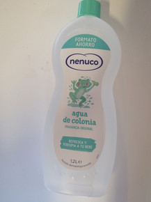 Nenuco Agua De Colonia 1200ml Spanish family Cologne XXL SIZE.