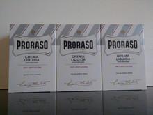 Proraso Aftershave Balm/Crema Liquida 100ml White  X3