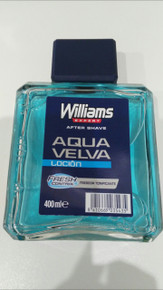 Aqua Velva Williams Aftershave Lotion extra large barber size 400ml bottle