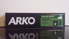 1 x 100ml Arko Hydrate (formally known as Moist) Shaving Cream from Turkey