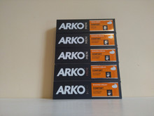5 x 100ml Arko Comfort Shaving Cream from Turkey