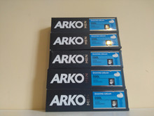 5 x 100ml Arko Cool Shaving Cream from Turkey