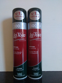 La Toja  Spanish Shaving Foam Classic 300ml X 2