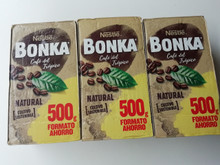 Bonka Nestle Natural Ground Coffee 3 X  500G  XL Size