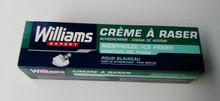 Williams ICE FRESH menthol shaving cream 100 ml
