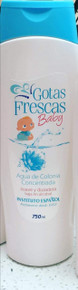 Gotas Frescas Baby by Instituto Espanol Agua de Colonia/Cologne 750ml x 1