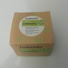 Babaria Face Cream with Cannabis Seed Oil 50ml   100% Vegan
