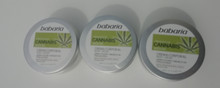 Babaria Body Cream with Cannabis Seed Oil 200ml 100% Vegan   X 3