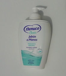 Nenuco Hand Wash/Liquid Soap 240ml from Spain x 1