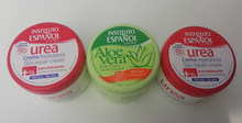 Instituto Espanol Spanish Skin Cream Aloe Vera x 1 & Urea Skin Cream x 2