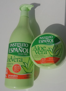 Instituto Espanol Aloe Vera  Hand and Body cream 950ml and 400ml