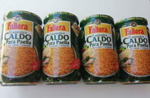 Fallera CALDO PARA PAELLA 600ml Concentrated broth for  meat paella x4