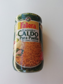 Fallera CALDO PARA PAELLA 600ml Concentrated broth for meat paella x1