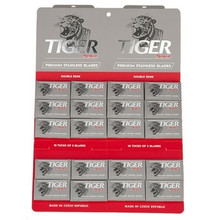 Tiger Platinum Premium Stainless DE Razor Blades x 700 XL Pack Czech made