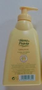 HENO de PRAVIA Original Cream Soap 300ml x 1 from Spain.