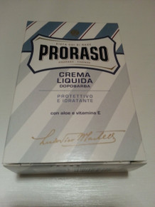 Proraso 'Blue' Aftershave Balm Liquid Cream 100ml BNIB