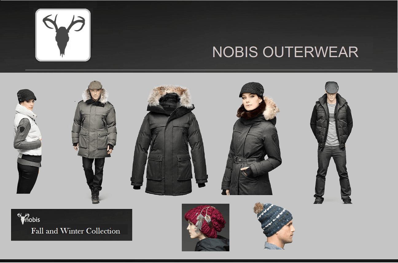 Nobis luxurious winter apparel