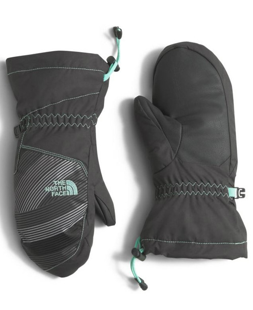 Great warmth for the boys and the girls.  The North Face Youth Revelstoke Mitt | 2T8D in Ice Green