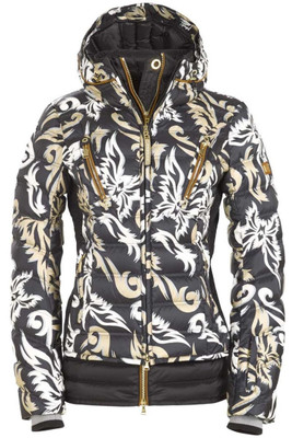 Bogner Down Ski Jacket | Women's Calina-D | 3160 | Black | Front