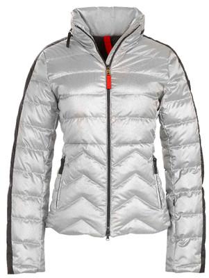 Fire & Ice Ski Jackets   Women's Danea-D in Metallic Silver   Goose Down   3481