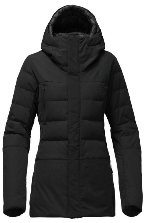 c698afc5a7c1 The North Face Women s Heavenly Down Jacket shown in TNF Black. NF0A34MJ
