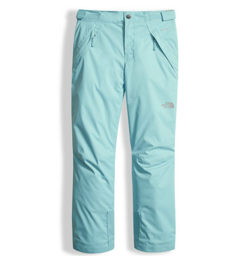 The North Face Girl s Insulated Freedom Pant shown in Nimbus Blue. NF0A34V1 217dde0d8