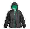 The North Face Girl's Osolita Triclimate Jacket shown here in Graphite Grey. NF0A34UM