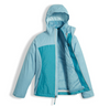 The North Face Girl's Osolita Triclimate Jacket shown here in Nimbus Blue (Open). NF0A34UM